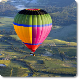 hot air ballooning melbourne